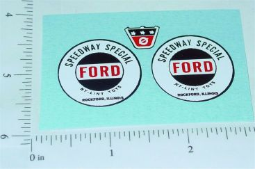 Nylint Ford Speedway Special Pickup Stickers Main Image