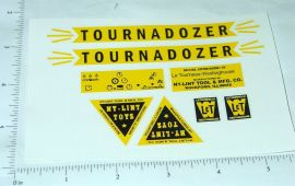 Nylint Tournadozer Const Vehicle Stickers