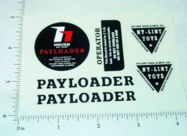 Nylint Hough Payloader Const Vehicle Stickers Main Image