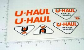 Nylint Ford UHaul Pickup/Trailer Sticker Set