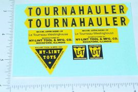 Nylint Tournahauler Const Vehicle Sticker Set