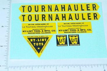 Nylint Tournahauler Const Vehicle Sticker Set Main Image