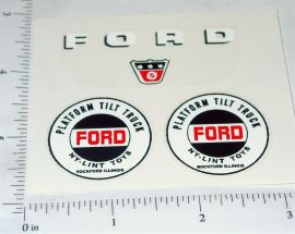 Nylint Cab Over Ford Platform Tilt Stickers