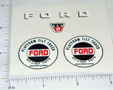 Nylint Cab Over Ford Platform Tilt Stickers Main Image