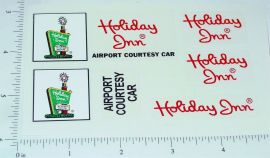 Nylint Ford Econoline Holiday Inn Van Stickers