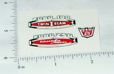 Nylint Ford Camper Special Truck Stickers Main Image