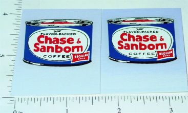 Nylint Ford Chase & Sanborn Stake Truck Stickers Main Image