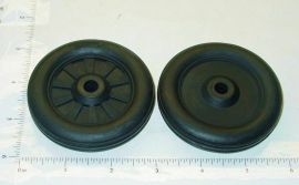Buddy L Simulated Spoke Rubber Wheel/Tire Replacement Toy Part