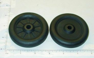 Buddy L Simulated Spoke Rubber Wheel/Tire Replacement Toy Part Main Image