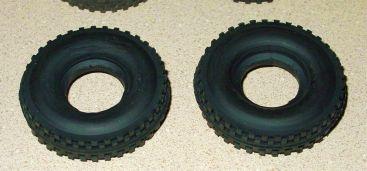 Pair Cox Thimble Drome Champ Replacement Rear Tires Main Image