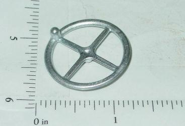 "Universal Custom 1 1/8"" Cast Toy Steering Wheel w/Helper Knob Main Image"