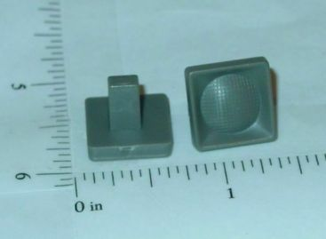 Pair Square Ertl Loadstar Plastic Headlights Toy Parts Main Image