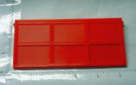 Ertl Loadstar Red Plastic Dump Truck End Gate Toy Part