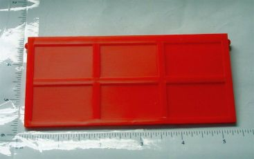 Ertl Loadstar Red Plastic Dump Truck End Gate Toy Part Main Image