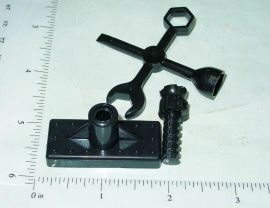 Marx Small Plastic Jack & Wrench Toy Parts/Accessories