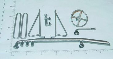 Ohlsson & Rice Tether Car Racer Replacement Parts Set Main Image