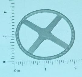 "Custom 4 Spoke 2"" Diameter Flat Steering Wheel Part"