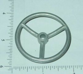 "Custom 3 Spoke Dished 1 7/8"" Steering Wheel Toy Part"