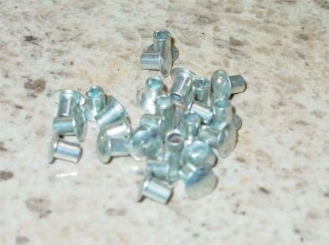 """25 Semi Tubular 1/8"""" by 5/32"""" Tonka Rivets Main Image"""