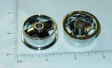 Chrome Plated Smith Miller 4 Spoke Cast Replacement Wheel Part Main Image