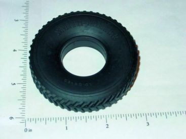 Smith Miller B-Mack Script Herringbone Replacement Tire Toy Part Main Image