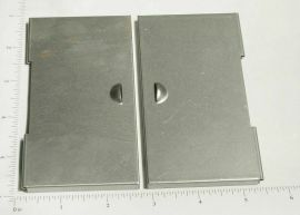 Smith Miller Box Van Stamped Steel Rear Door Replacement Part Set