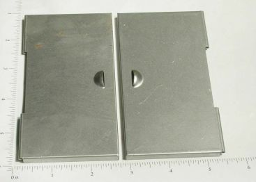 Smith Miller Box Van Stamped Steel Rear Door Replacement Part Set Main Image