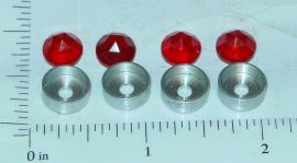 Smith Miller MIC Semi Trailer Set 4 RED Jewels/Holders Parts
