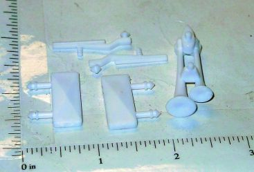 Structo Plastic Mirror/Airhorn/Wipers Truck Accessory Set Toy Parts Main Image
