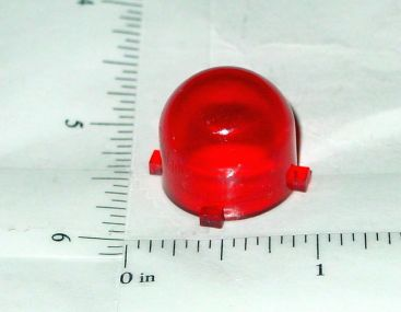 Structo Red Plastic 4 Tab Roof Flasher Toy Part Main Image