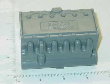 Structo Plastic Gray Fireball Motor Replacement Toy Part Main Image