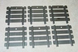 6 Structo Stamped Steel Livestock Truck Stake Rack Toy Parts