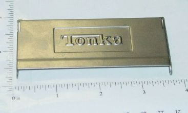 Tonka Stepside Embossed Stamped Steel Tailgate Toy Part Main Image