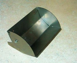 Tonka Sanitation Garbage Truck Front Scoop Replacement Toy Part