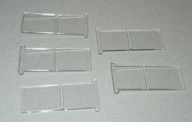Tonka Pickup Camper 5 Piece Sliding Window Replacement Toy Part Set