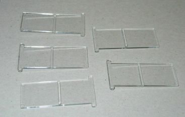 Tonka Pickup Camper 5 Piece Sliding Window Replacement Toy Part Set Main Image