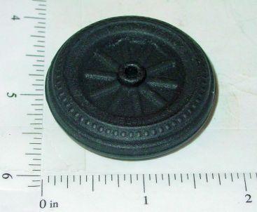 Wyandotte Black Rubber Simulated Spoke Wheel/Tire Replacement Part Main Image