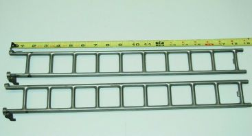 Pair Buddy L 205A Firetruck Replacement Ladder Toy Part Main Image