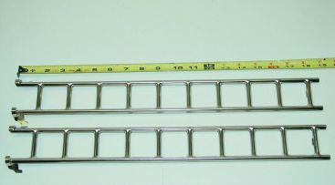 Buddy L 205A Firetruck Nickel Plated Replacement Ladder Toy Part Main Image
