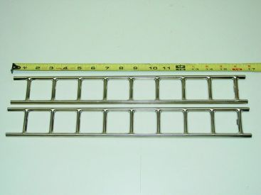 Buddy L Firetruck Nickel Plated Replacement Ladder Toy Part Main Image
