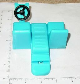 Nylint Blue Plastic Econoline Van Interior Replacement Toy Part