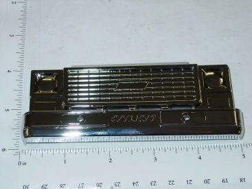Nylint Chrome Plastic Chevy Truck Grill Replacement Toy Part Main Image