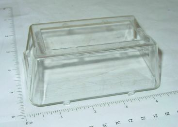 Structo Plastic 60's Full Cab Windshield Replacement Toy Part Main Image