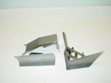 Tonka Straight Plow, V Plow, Bracket & Headlights Replacement Toy Parts Main Image