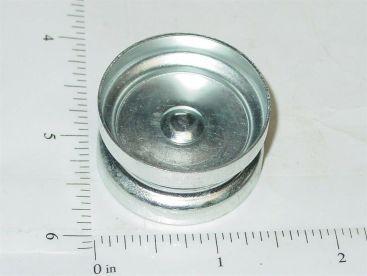 Tonka Bulldozer/Crane 2pc Steel Wheel Replacement Toy Part Main Image
