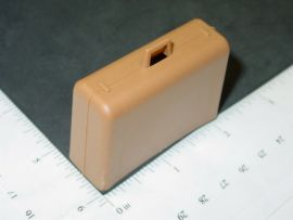 Tonka Brown Airport Tug Suitcase/Luggage Replacement Toy Part