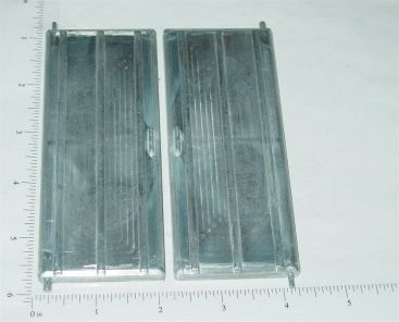 Pair Wyandotte Rear Semi Trailer Doors Replacement Toy Parts Main Image