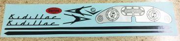 Garton Kidillac Pedal Car Replacement Sticker Set Main Image