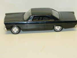 Vintage Plastic 1965 Ford Galaxie 500 XL Dealer Promo Car, 2 Door HT