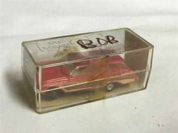 Vintage Aurora T-Jet Red 62 Ford Country Squire Station Wagon Slot Car IN BOX Main Image